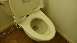 困ったトイレの便座