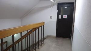 トイレと階段と