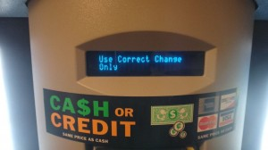 use correct change