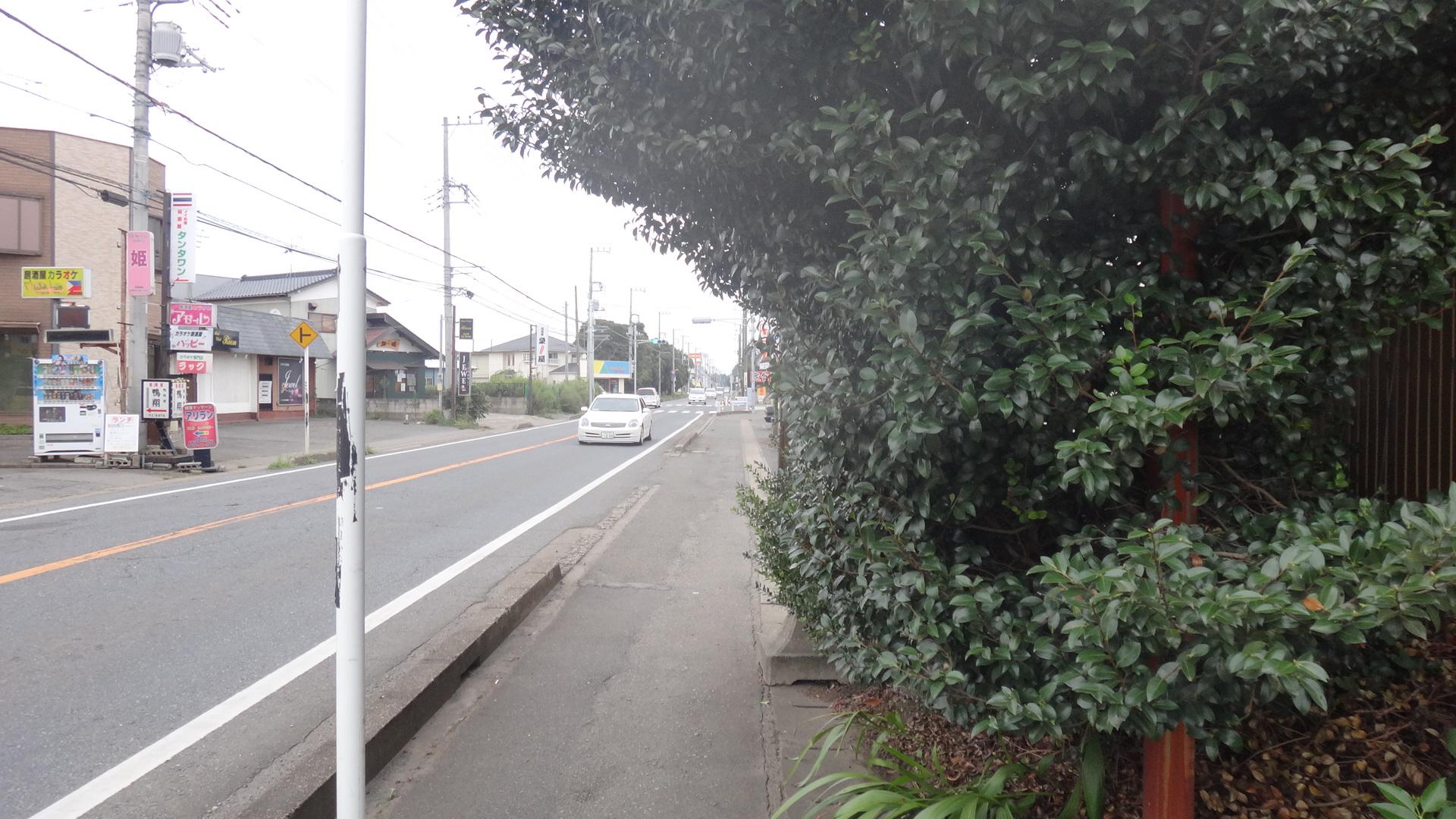 バス停はどこ?